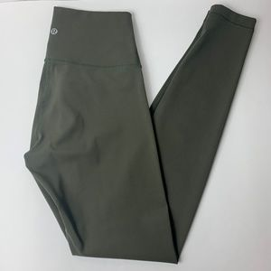 Lululemon Wunder Under High Rise | Dark Olive | 6
